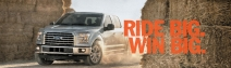 Win 2015 Ford F-150 ARV $50000 and a trip for 2 to the 2015 Professional Bull Riders Built Ford Tough World Finals - Ford.com