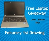 Enter to win a Brand New Laptop - Discount Computer Warehouse