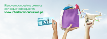 Participa por Macbook GoPro Iphone 6 - Interbank Perú