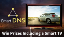Enter to win a $1500 SmartTV9 - Smart DNS