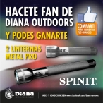 2 LINTERNAS SPINIT METAL PRO - Diana Outdoors