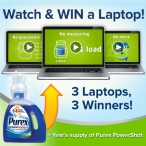 Enter for a chance to win Laptop 3 winners - Purex