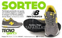 GANÁ ZAPATILLAS NEW BALANCE - Tecno Sports