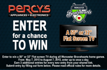 Enter to win 50 Flat Screen TV - Percys Worceste