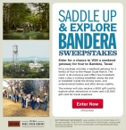 Enter to win $1075 Mayan Dude Ranch gift certificate a $1000 Visa gift card - Travel Meredith