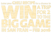 Win an unforgettable trip for two at The Big Game in San Francisco - www.riunitetailgate.com