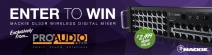 Enter for your chance to win a Mackie DL32R Wireless Digital Mixer - proaudio.com
