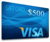 $500 Visa Gift Card Sweepstakes Giveaway - interfusellc.com