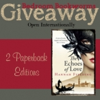 2 paperbacks of The Echoes of Love - Ends 10.07 - www.bedroombookworms.com