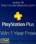 Free Year of Playstation Plus Membership Giveaway November - www.themovienetwork.com