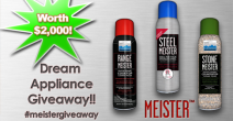 Meister Cleaners $2000 Dream Kitchen Upgrade Giveaway - MeisterCleaners.com