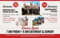 Free Downton Abbey Teacup in Gift Box & Free Downton Abbey Tote Bag - www.worldmarket.com
