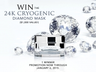 WIN the 24K CryogeniC Diamond Mask $1000 value - www.orogoldgiveaway.com