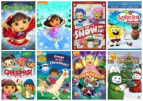 Nickelodeon Holiday DVDs - www.gatormommyreviews.com