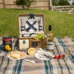 Win a Wicker Picnic Basket of Food & Drink from Flowerfete - Sixtyplusurfers