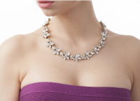 Win a gorgeous Frost Necklace for brides - www.theweddingspecialists.net