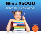 $5000 School Library Giveaway - www.signupgenius.com