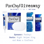 PanOxyl Giveaway ARV $40 - Swanky point of view