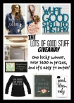 The Lots of Good Stuff Package Giveaway - The Mindful Shopper Blog