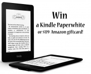 Win a Kindle Paperwhite or $119 Amazon Giftcard! - Heather Choate