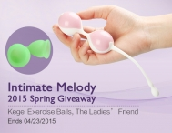 Enter to Win A $17 Kegel Exercise Balls - Intimate Melody