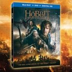 The Hobbit: The Battle of The Five Armies Blu-ray/DVD Combo Pack Giveaway - Warner Bros.