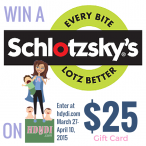 Win a Schlotzskys $25 gift card and check their new oven-baked pastas! - How Do You Do It?