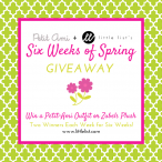 6 Weeks of Spring Giveaway 05/01 - Little List