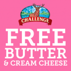 FREE Butter and Cream Cheese GIVEAWAY from Challenge - Challenge Butter