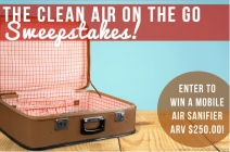 Clean Air on the Go Sweepstakes - Ron and Lisa