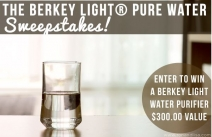 Berkey Light Pure Water Sweepstakes - Ron and Lisa