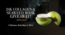 The 24K Collagen & Seaweed Mask Giveaway - OROGOLD