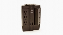 Six Outlet Swivel Surge Protector Giveaway - Fancy That!