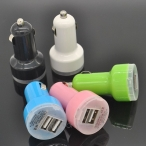 Portable Mini Car Charger Adaptor Dual USB - 48 Hours Deal
