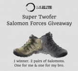 Two Pairs Of Salomon Forces Shoes Giveaway - U.S. Elite