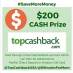 5 Minutes for Mom - TopCashback Giveaway - 5 Minutes for Mom