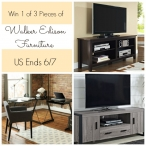 Win A Piece Of Walker Edison Furniture {Winners Choice} - Walker Edison