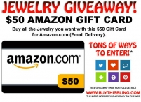 Amazon Gift Card Giveaway - Buy This Bling