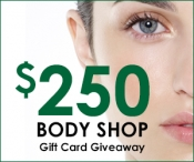 The Body Shop $250 Gift Card Giveaway - The Body Shop