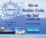 Enter for a seven night Alaskan cruise for two | #Arnicare2Alaska - naturalhairlatina