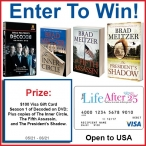 Brad Meltzer Prize Pack Giveaway - Your Life After 25