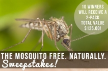 Mosquito Free Naturally Sweepstakes - Ron and Lisa