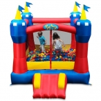 Your Little Ones Will Love The Blast Zone Castle Bouncer - Blast Zone