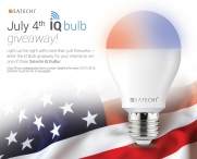 Satechi 4th of July iQ Bulb Giveaway - Satechi