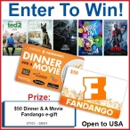 $50 Fandango Gift Card Giveaway - Your Life After 25