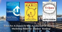 Top Marketing Books for Summer Reading Sweepstakes - Work With Tom Leonard