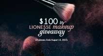 $100 In Lionesse Makeup Giveaway - Lionesse