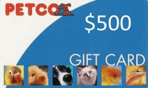 $500 Petco Gift Certificate Giveaway - LovePets.com