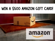 $500 Amazon Gift Card or Cash 9/14 - Put A Little Umbrella In Your Drink