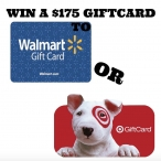 Win A $175 Gift Card To Walmart Or Target - Giveaway Snap